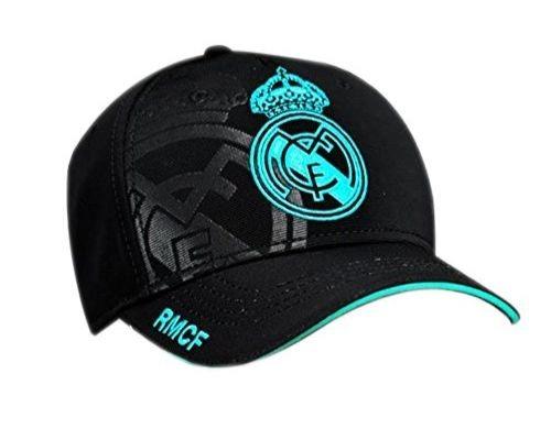 Gorra Real Madrid negra oficial 2017-2018